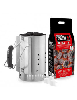 BBQ/Kit cheminée d'allumage