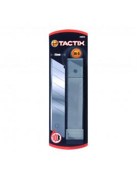 Lot de 10 lames de largeur 25mm pour cutter 260515 - TACTIX