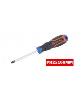Tournevis PH2x100mm / 205037 - TACTIX