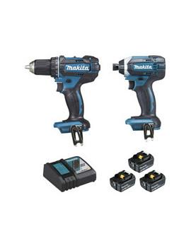 Combo Kit 2 machines 18V / 3Ah / DLX2127J1 - MAKITA