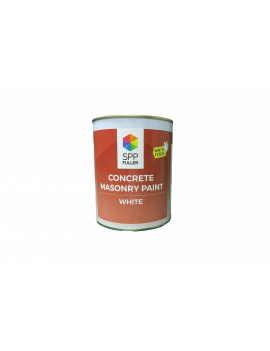 CONCRETE FLAT WHITE 1/4