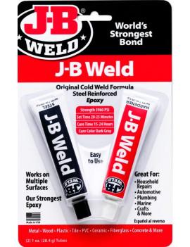 J-B WELD EPOXY STEEL...