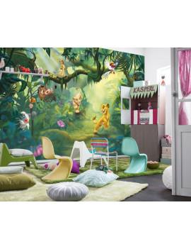 "Photo murale ""Lion King Jungle"" - KOMAR"