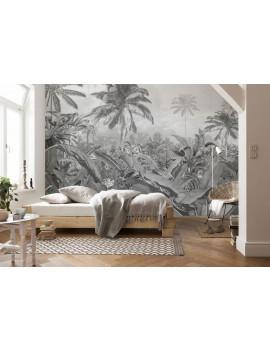 """Poster XXL impression numérique """"Amazonia Black and White"""" - KOIMAR"""