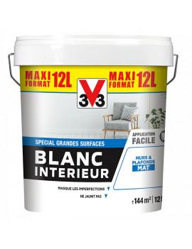 V33 BLANC INT MAT 12L