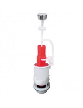 Mécanisme simple poussoir pour toilette - WIRQUIN