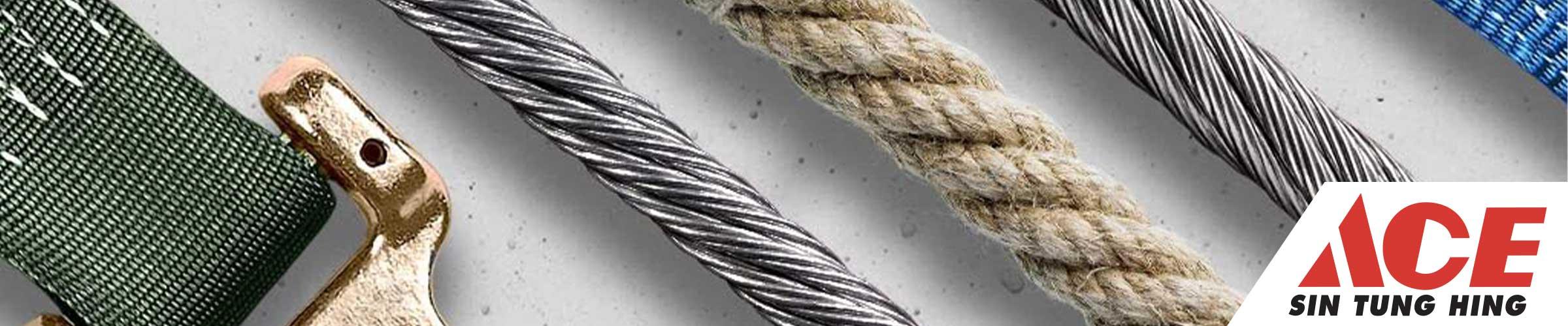 """Image illustrant la sous-catégorie """"Cordes, chaînes & câbles"""""""