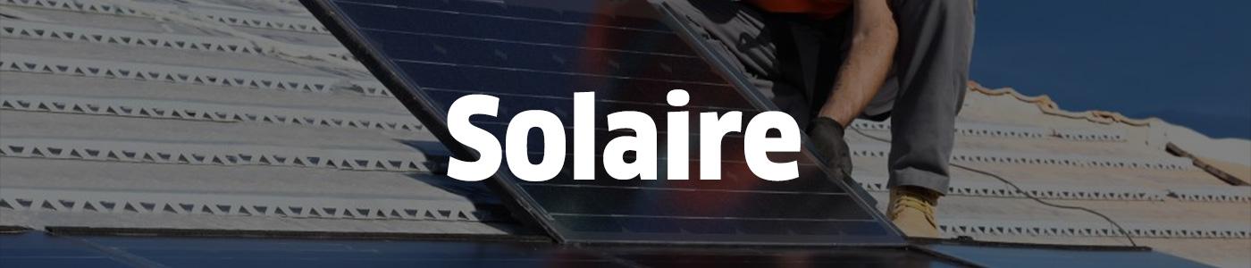 Trouver un quelqu'un pour réaliser des travaux d'installation de panneaux solaires..