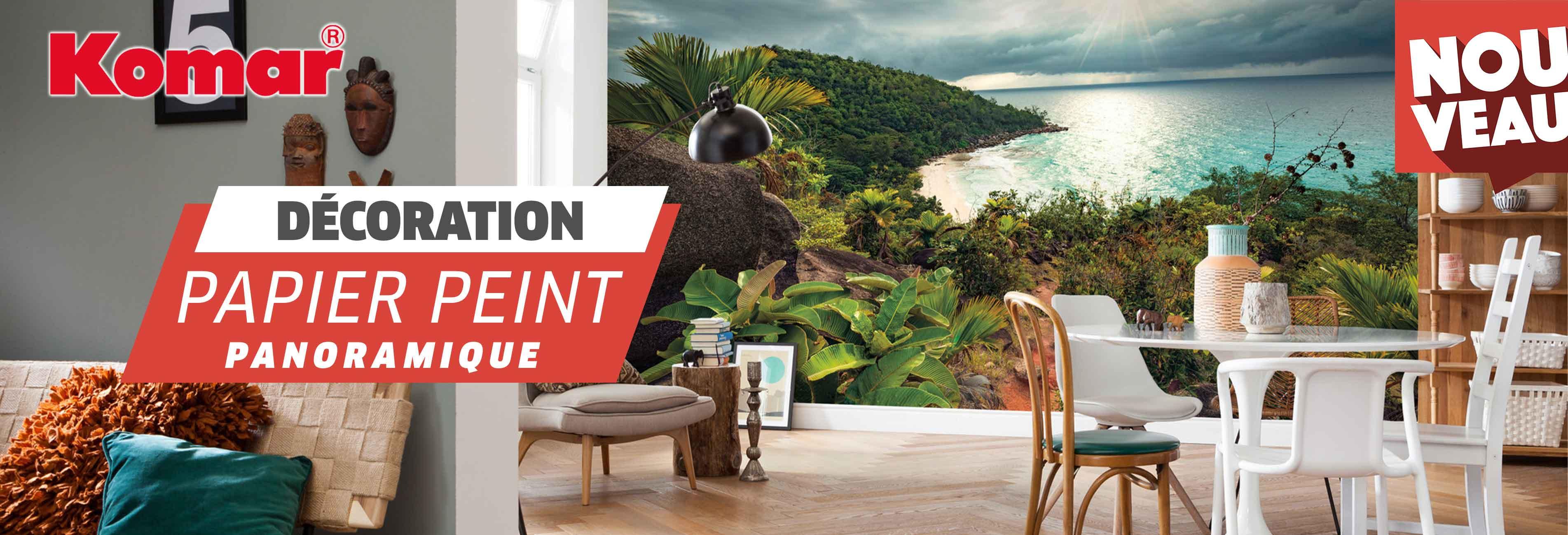 Découvrez le Papier Peint Panoramique pour personnaliser vos murs facilement.